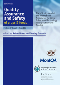 Quality Assurance and Safety of Crops & Foods (QAS)